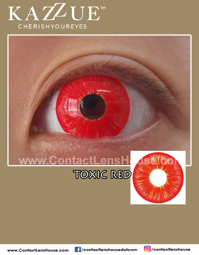 Toxic Tears: Sclera Contact Lens Review!  |Toxic Contacts