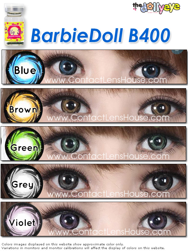 Barbiedoll Cosmetic Color Lenses