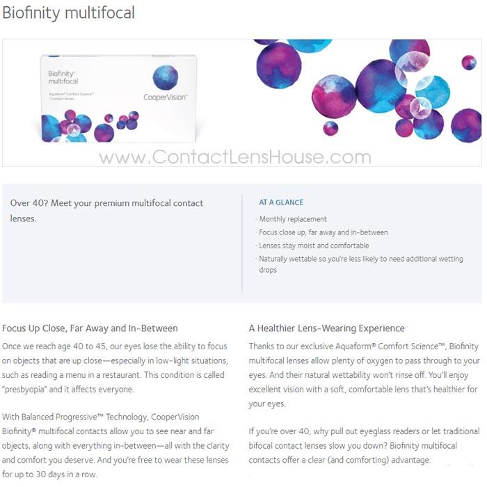 Biofinity Multifocal contact lens 6308fec892