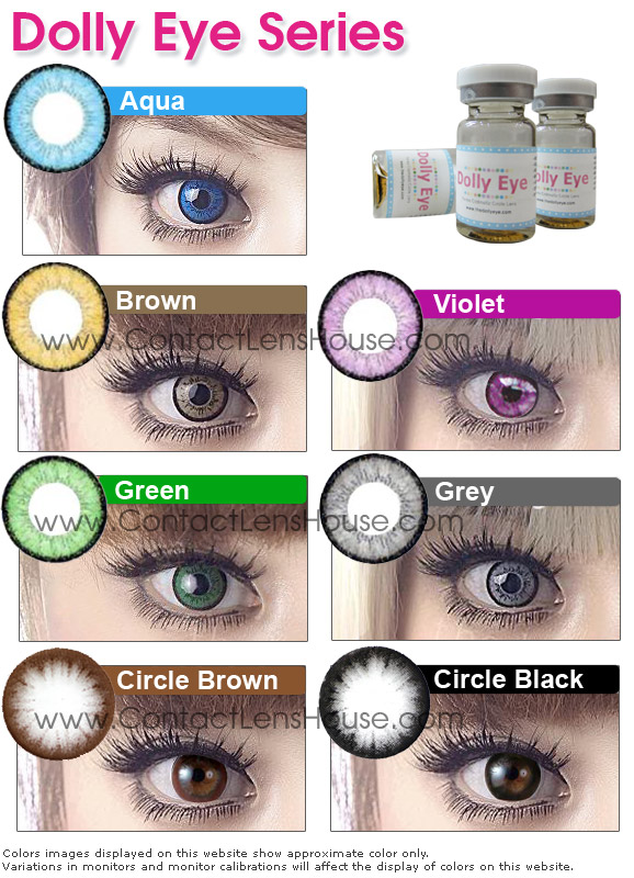 Dueba Dolly Eye Contact Lens At Special Pricing