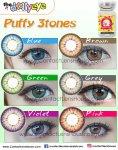 Puffy 3 Tones Green