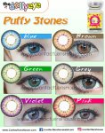 Puffy 3 Tones Violet