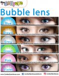 Bubble Series Blue