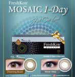 Freshkon Mosaic Daily Urban Grey 10pcs