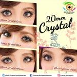 20mm Crystal Blue (Plano -0.00)