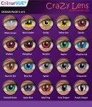 ColourVUE Crazy Lens 14mm 3 Months