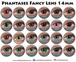Phantasee Crazy Lens 14mm (3 Month)