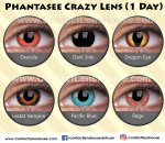 Phantasee Crazy Lens (1 Day)