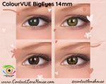 ColourVUE BigEyes 14mm Sexy Brown