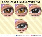 Phantasee BigEyes Monthly Angel Hazel