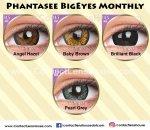 Phantasee BigEyes Monthly Brilliant Black