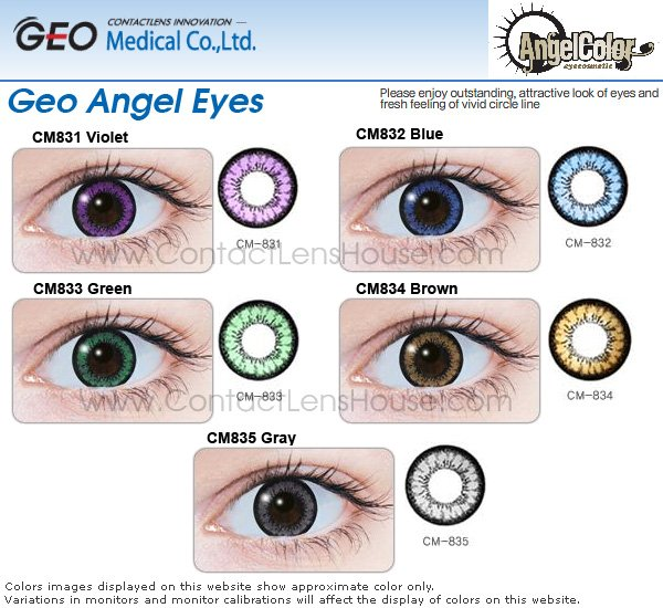 GEO ANGEL EYE Has A Great Big Eye Effect