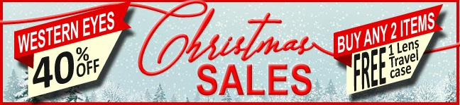 Christmas Sales 40% OFF Colored Contact Lenses