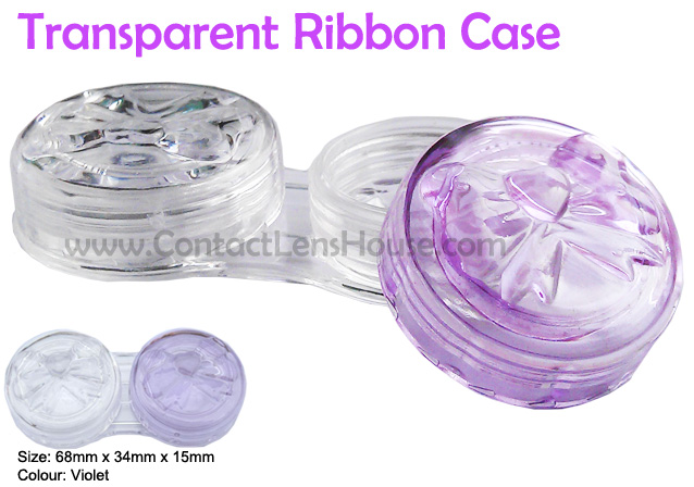 Transparent ribbon case